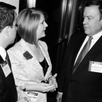 Kyle Moyer, Rep. Heather Carter, ASU President Michael Crow