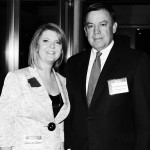 Rep. Heather Carter, ASU President Michael Crow