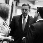 Rep. Heather Carter, ASU President Michael Crow, Kyle Moyer